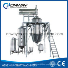 Rho High Efficient Factory Preis Energie sparen Hot Reflux Solvent Herb Extractor