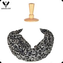 Мода Леопардовым Принтом 100 Полиэстер Бесконечность Шарф