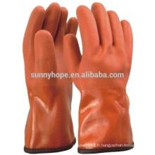Gant anti-température -50 centigrade winter PVC coated gant