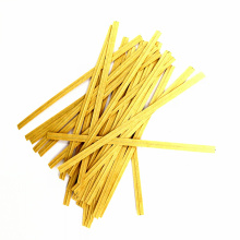 Wholesale 10cm colorful  kraft paper twist tie for bag packing