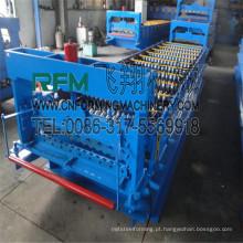 FX máquina de fazer chapa de telhado de ferro ondulado para venda