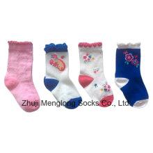 Gute Qualität Baby Cotton Socken mit seinen Prüfbericht