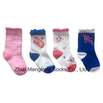 Хорошее качество детские носки с его испытания