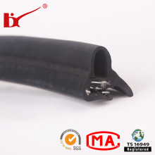 EPDM Extruded Steel Reinforced Rubber Seal Strip for Cars