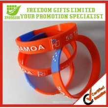 Cheap Price Give Away Logo Printed Custom Silicone Wristband