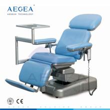 АГ-XD107 контроль двух моторов высота регулируемой больницы электрическая bariatric стул кровопускания
