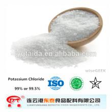 KCL Potassium Chloride Food Grade --- alimentos de levadura, sustitutos de la sal, suplemento nutricional - fabricante,