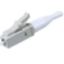 Connecteur fibre optique Connecteur LC à 90 degrés, connecteur optique à fibre optique LC pour cordon de raccordement