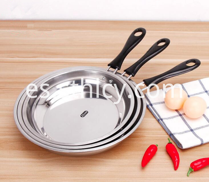Stainless Steel Frying Pan Good