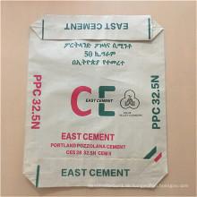 Kunststoff PP gewebt beschichtet Zementbeutel