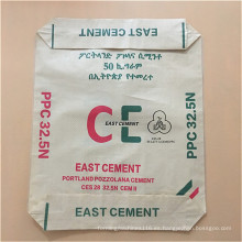 bolsa de cemento revestida tejida pp plástico