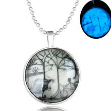 Jewelry In Copper Alloy NEcklace Luminous NEcklace Charm Pendant Necklace