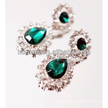 2014 Pendientes esmeralda más nuevos accesorios