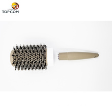 Round Brush, Nano Thermal Ceramic & Ionic Tech Hair Brush, Round Barrel Brush with Boar Bristles, Enhance Texture for Hair Dryin