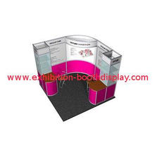 Lightweight Portable Trade show Booth , Modular Booth Syste