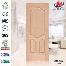 JHK-S02 Необыкновенный внутренний дизайн Perfect Design Простой проект Деревянная дверь из древесины бука
