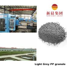 Светло-серый цвет вторичного впрыска ПП гранула