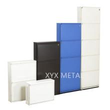 Mobiliário de estrutura de aço Armário de armazenamento de metal Shore