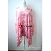 Châle imprimé en laine (12-BR020302-39)