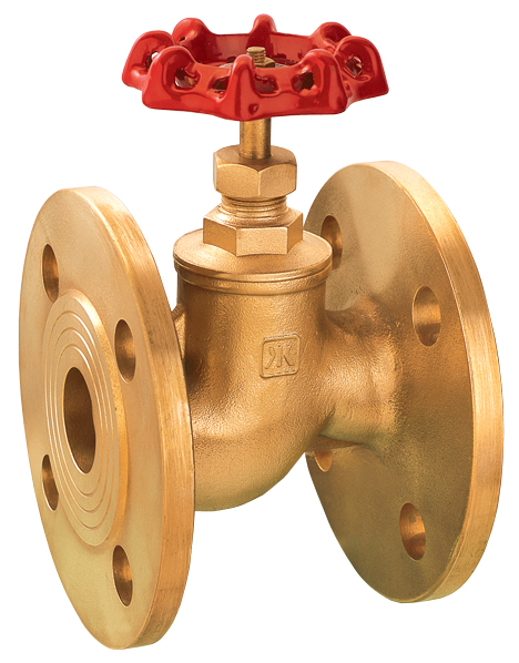 314 brass flanged stop valve