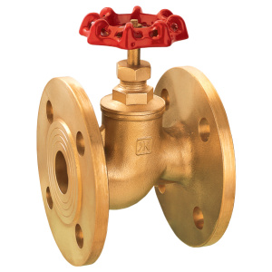 brass valve flange valve stop valve with manual handle