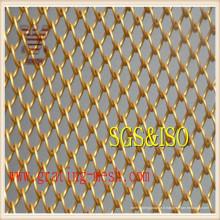 Treillis de maillon de chaîne galvanisé pour clôture (usine directe)