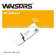 802.11N 150M USB2.0 Mini adaptador Wireless Lan (1T1R), suporta modos Ad Hoc e infra-estrutura