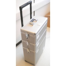 New Design Aluminum Three Layer Composite Draw-Bar Case