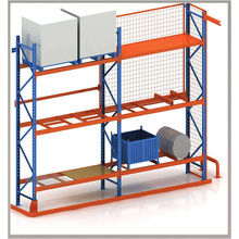 the storage pallets racking for warehouse shelving solution