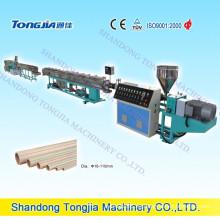 Línea de producción de tubos de plástico PP-R / PP (JG-PPR)