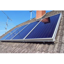 Clean Energy Flat Panel Solar Water Heater For Small Area Unit