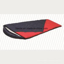 Poliéster Misturado Cor Cap Envelop Camping Sleeping Bag