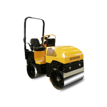 RIDE-ON double drum full hydraulic vibration road roller