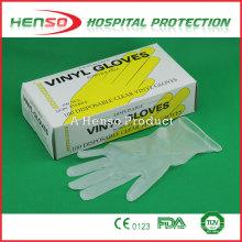 Guantes Henso Clinic Vinyl Examination
