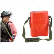 Aparelho de respiração de auto-resgate de mineração subterrânea de 45 minutos