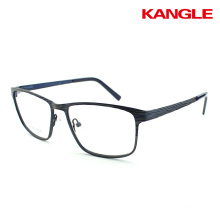 Women prescription glasses half rim metal stainless steel optical frame spectacle frames