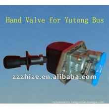 WABCO hand brake valve for Yutong and Kinglong / bus spare parts