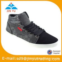 2015 cheapest men china canvas vulcanization shoes