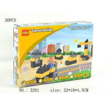 Jouet de blocs d'ingénierie à bas prix pour les enfants d'âge préscolaire