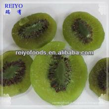 Fatias de kiwi desidratado