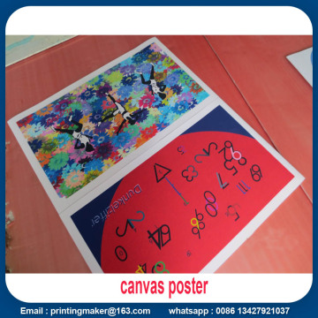 Banner Canvas Poster di qualità