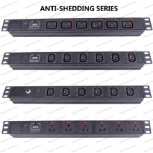 19 Inch Anti-Shedding Series Universal Socket Network Cabinet and Rack PDU