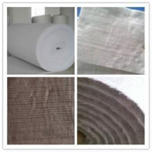 Tapis d'aiguille de fibre de verre d'isolation thermique de silice élevée