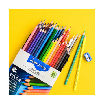 Hot Sale Andstal 36 Colors Healthy Colored Pencil Set Water Color Artist Drawing Pencils Rainbow Coloring Art Supplies Andstal