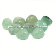 High Polished Gemstone polished gray pebble stone tile