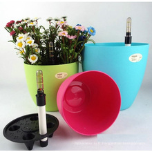 (BC-F1049) Pot de fleurs auto-arrosage en plastique à la mode
