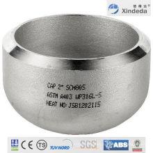 Accesorios de tubería Tapón de acero inoxidable con CE