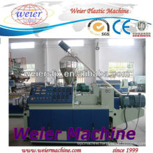 PVC Conical Double Screw Extruders/plastic machine