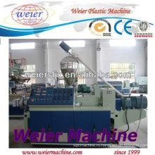 PVC конический двойной винт экструдер/пластиковые машины