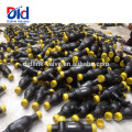 Fornecedor Dn25 Teflon Ktz Aço Inoxidável Titanium Handle Válvula de Esfera Válvula Completa Gasdistributor